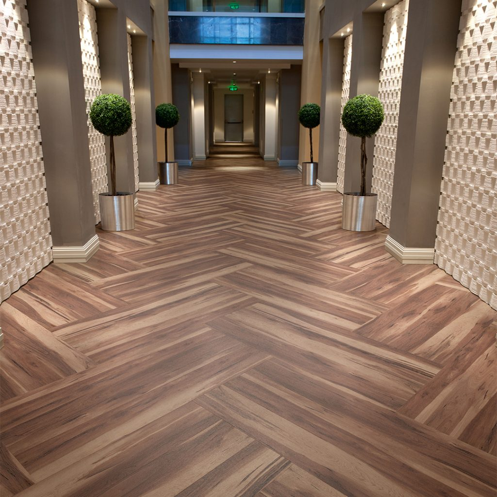 vinyl flooring for hallways and corridors