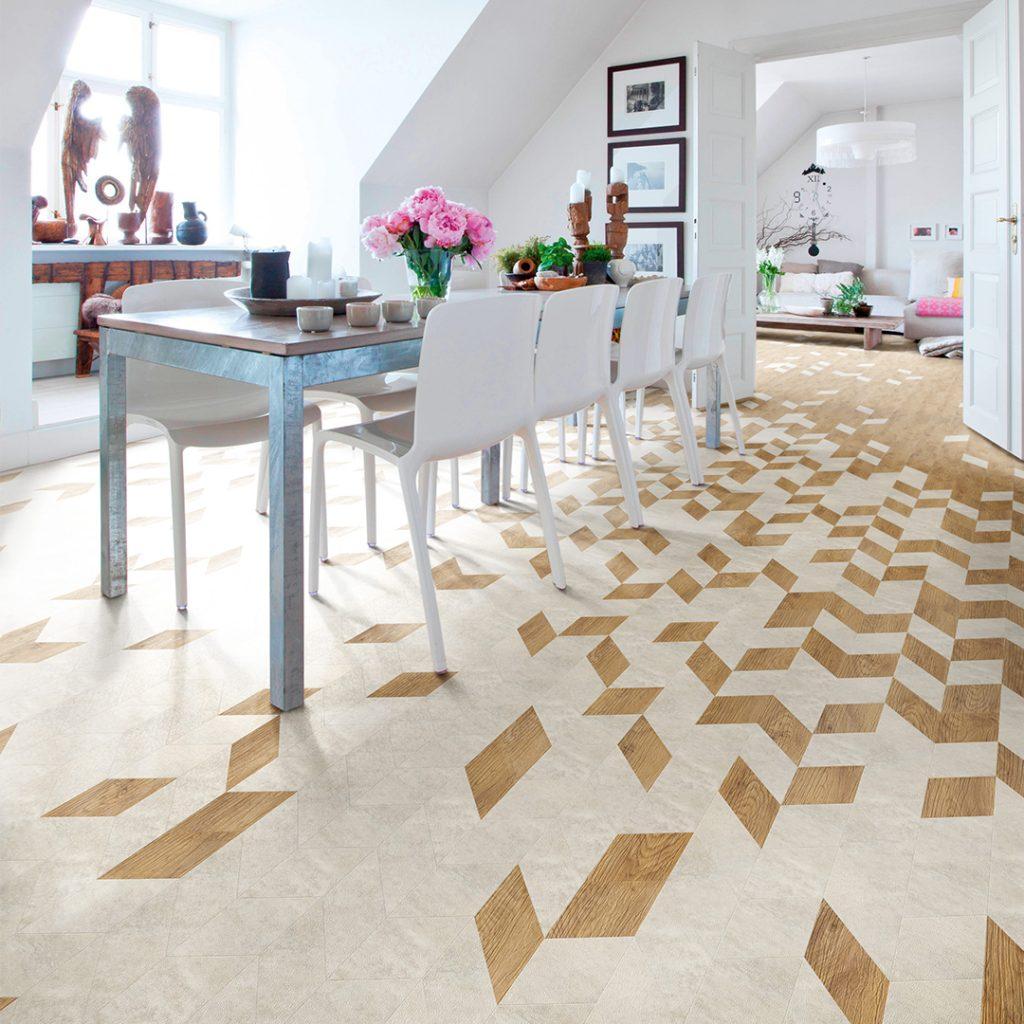 Vinyl flooring for homes
